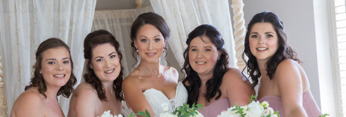 Bridal/wedding makeup in Essex